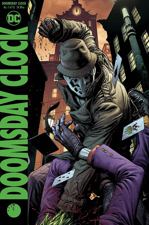 Doomsday Clock 07 - Cover B