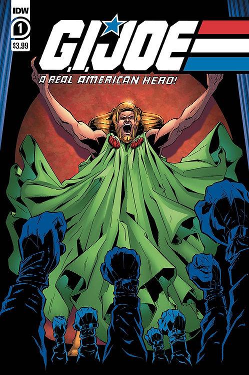 GI JOE - A Real American Heroe Serpentor