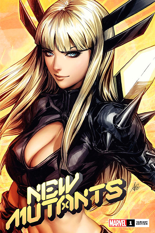 New Mutants 01 - Cover B Artgerm