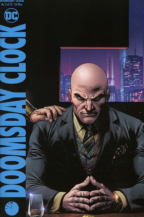 Doomsday Clock 02 - Cover B