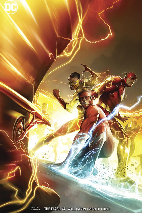 Flash 47 - Cover B Francesco Mattina
