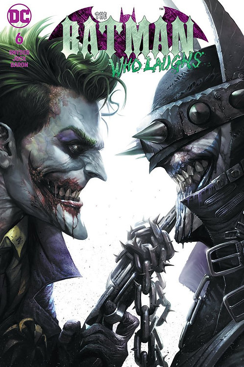 The Batman Who Laughs 06 - Cover Mattina