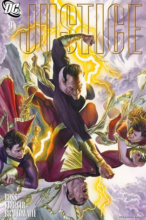 JUSTICE 09 - Cover A Alex Ross