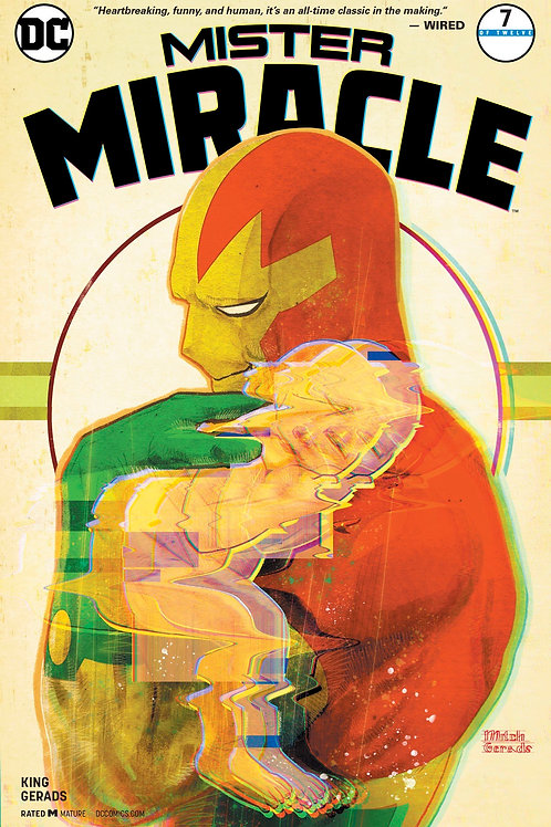 Mister Miracle 07 - Cover B Mitch Gerads