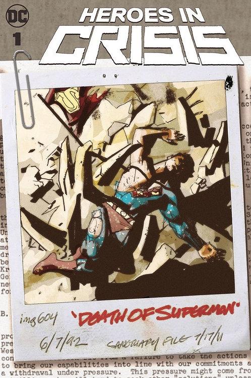 Heroes in Crisis 01 - Cover B Sook