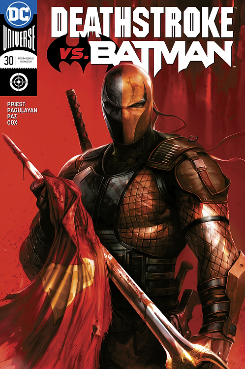 Deathstroke 30 - Cover B Francesco Mattina