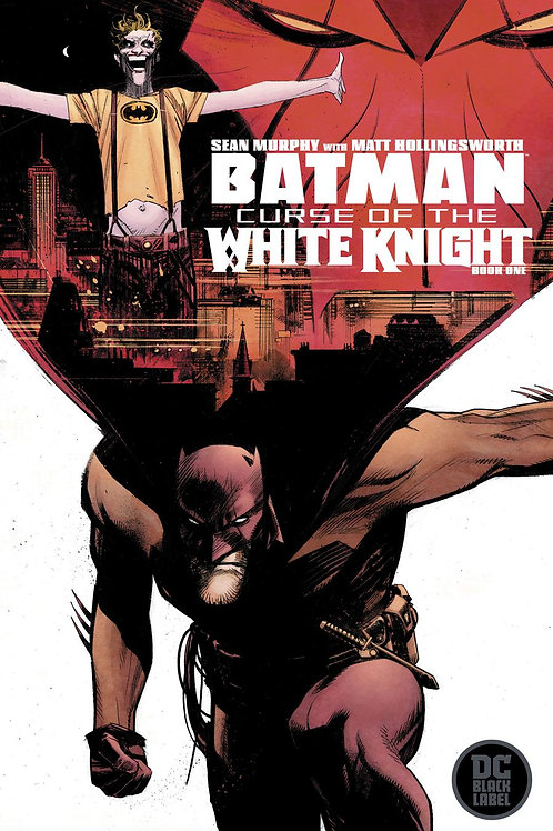 Batman Curse Of The White Knight - Cover A
