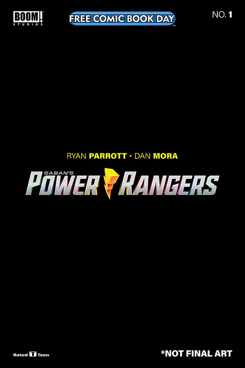 Power Rangers - FCBD 2020