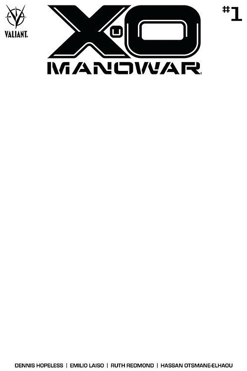 X-O Manowar 01 - Cover E Blank