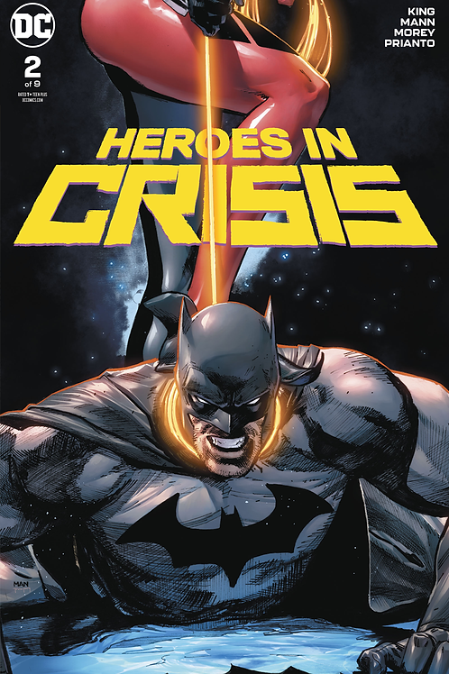 Heroes in Crisis 02 - Cover A Clay Mann