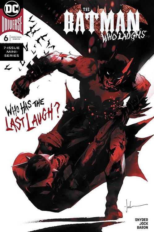 The Batman Who Laughs 06 - Cover A Jock