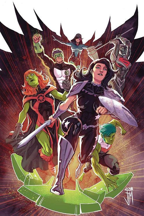 Titans 36 - Cover B Manapul