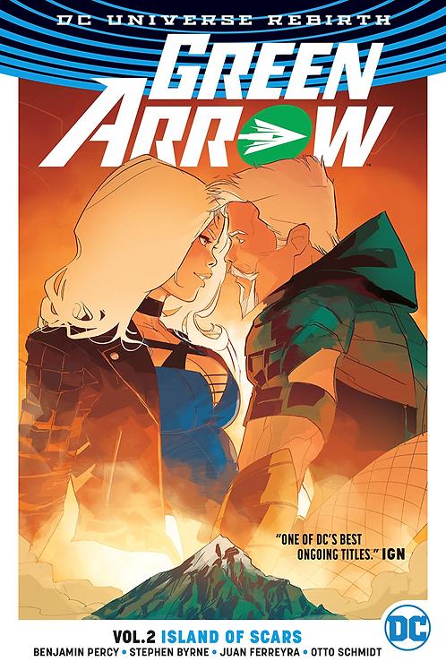 Green Arrow: Island of Scars - Vol 2