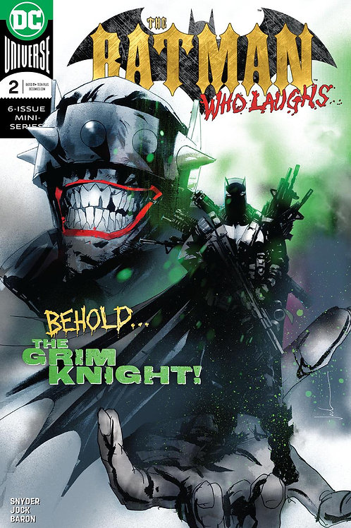 The Batman Who Laughs 02 - Cover A Jock