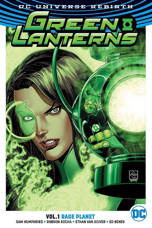 Green Lanterns: Rage Planet - Vol 1