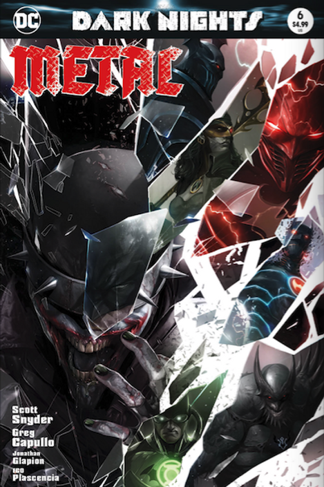 Dark Nights Metal - Francesco Mattina Variant