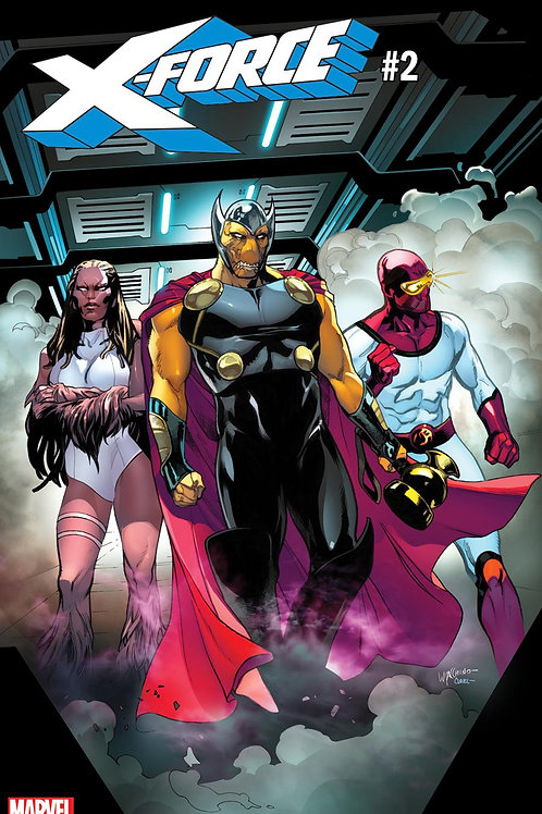 X-Force 02 - Cover B Lupacchino