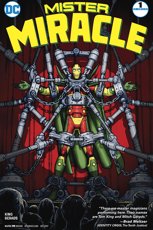 Mister Miracle 01 - 12 Regular Covers / Full Run