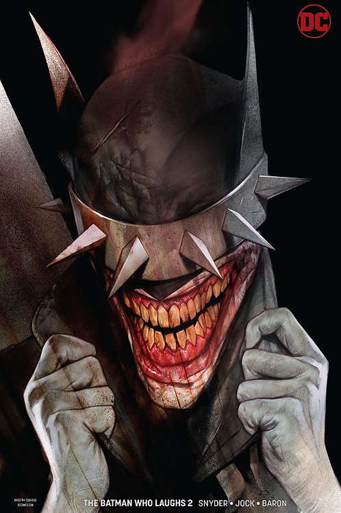 The Batman Who Laughs 02 - Cover B Oliver