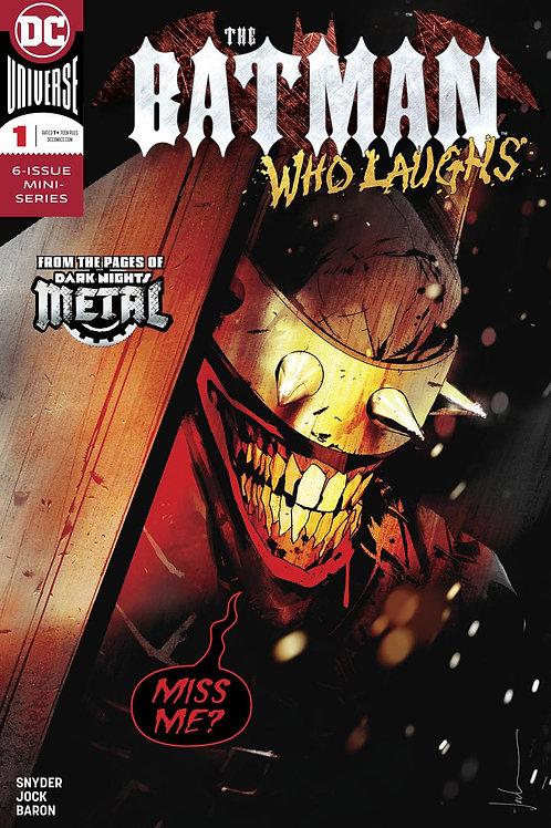 The Batman Who Laughs 01 - Cover A Jock