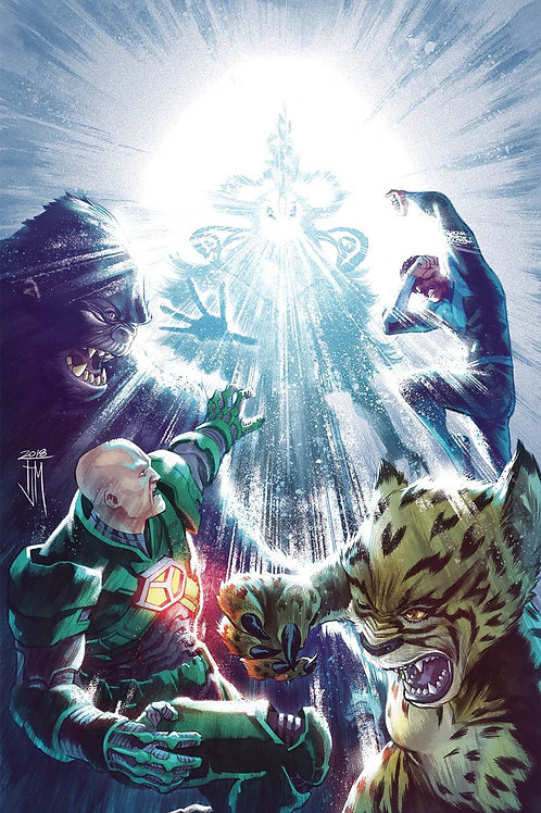 Justice League 22 - Cover A Manapul