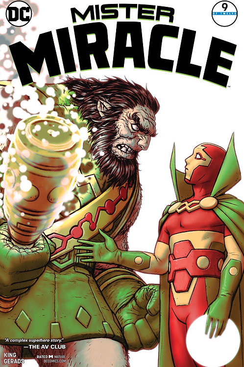 Mister Miracle 09 - Cover A Nick Derington