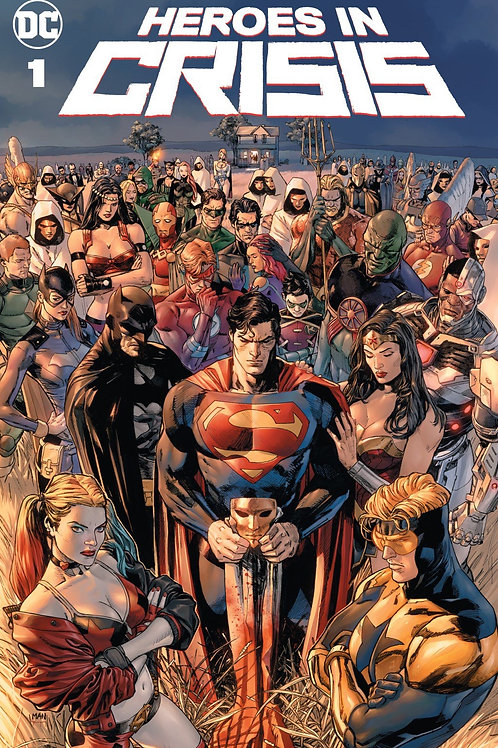 Heroes in Crisis 01 - Cover A Clay Mann