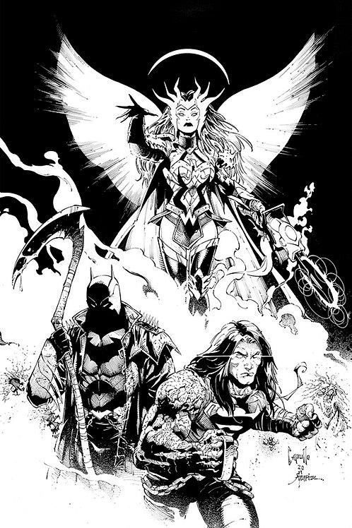Dark Nights Death Metal 01 - Cover F Midnight Party Variant