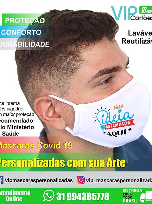 Máscara Personalizada para proteção Covid-19