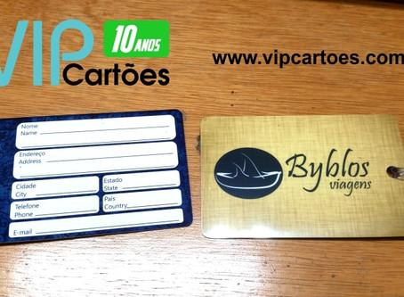 Portfolio Cartão Consumo / Tag de Mala | VIP Cartões