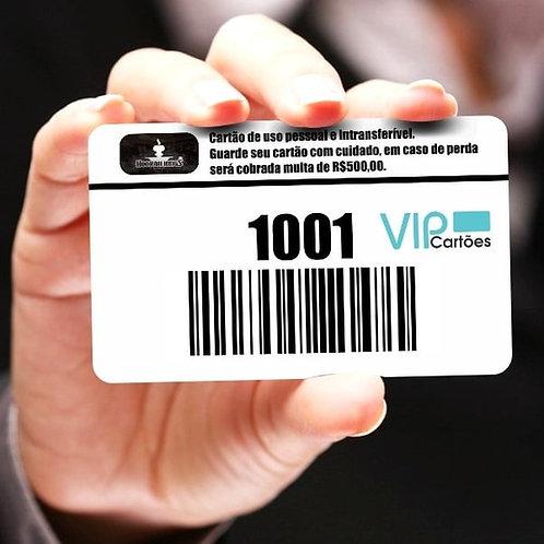 Cartão de Consumo para Bares e Restaurantes - 100 unidades