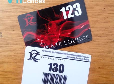 Cartão de Consumo | Tag de Bagagem em PVC | Gráfica VIP Cartões