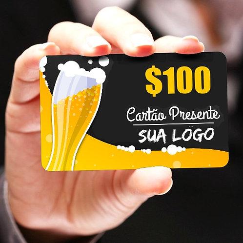 Cartão Presente | Gift Card - Pacote com 150 unidades