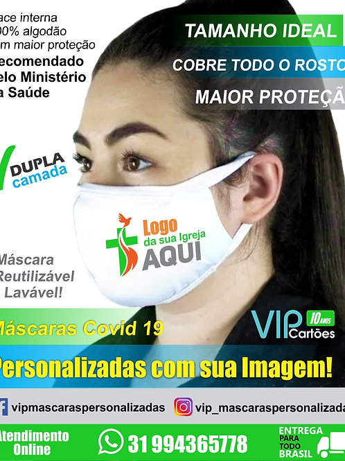 Máscara Personalizada Coronavirus