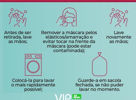 Dicas de como retirar com segurança a máscara de proteção contra o coronavírus | Gráfica VIP Cartões