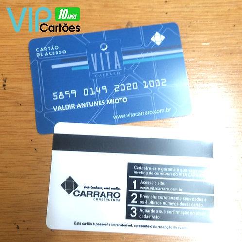 Cartão PVC Personalizado - Pacote com 150 unidades