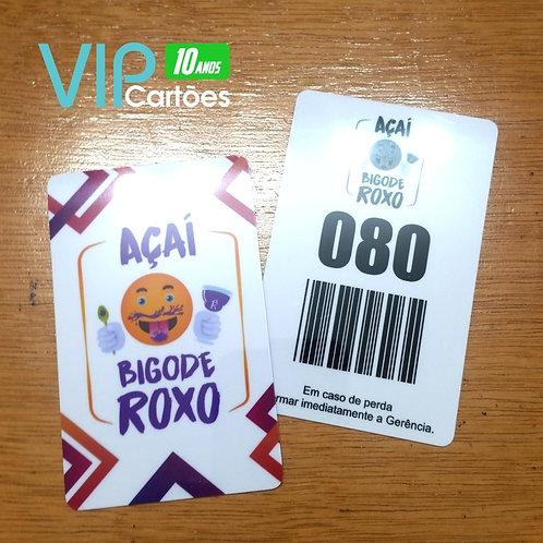 Cartão de Consumo para Bares e Restaurantes - 500 unidades