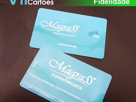 Cartão Fidelidade para empresas + Gift Card! Pedido despachado, cliente satisfeito!