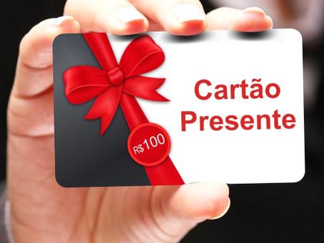 Cartão Presente Personalizado | Gift Card Personalizado | Gráfica VIP Cartões