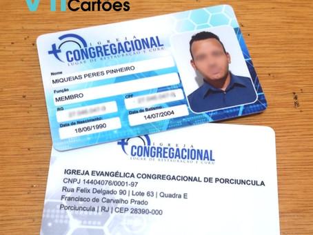Carteirinha de Membro | Tag de Bagagem | Comanda Eletrônica | Gráfica VIP Cartões