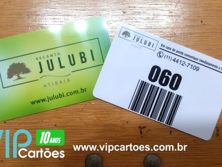 Produção VIP Cartões: hoje foi dia de produzir cartão comanda e carteirinha de filiado