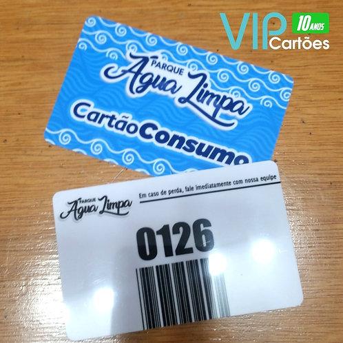 Cartão de Consumo para Bares e Restaurantes - 1000 unidades