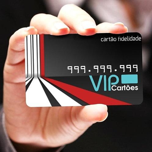 Cartão PVC Personalizado - Pacote com 50 unidades