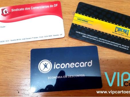 VIP Cartões | Produções | Cartão de Convênio PVC | Tag de Bagagem em PVC | Cartão PVC Personalizado