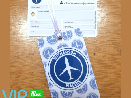 Cartão de Consumação | Cartão Convite | Tag de Mala | Gráfica VIP Cartões