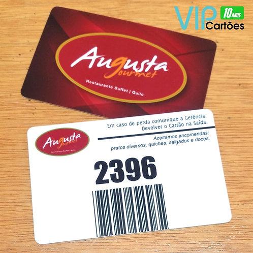 Cartão de Consumo para Bares e Restaurantes - Pacote com 60 unidades