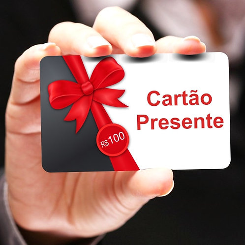 Cartão Presente | Gift Card - Pacote com 250 unidades