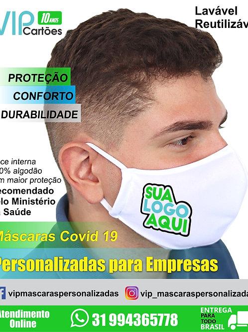 Máscaras Personalizadas para Empresas