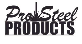 Pro Steel Logo Rendering Black & Gray.jp