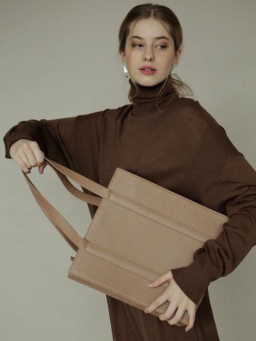 Vaskala Beige shopper bag